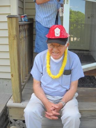 My Grampy enjoying the summer